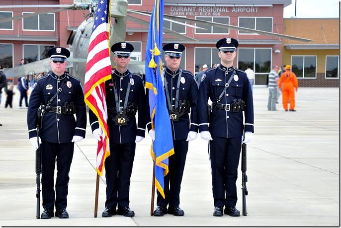 Honor Guard at Airport