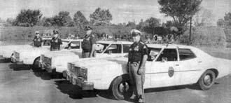 A New Fleet of 1974 Ford Montego Police Cars