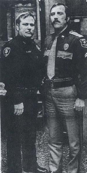 R.D. Hendrix and Charlie Stiefer transition to new uniforms - Circa 1980s